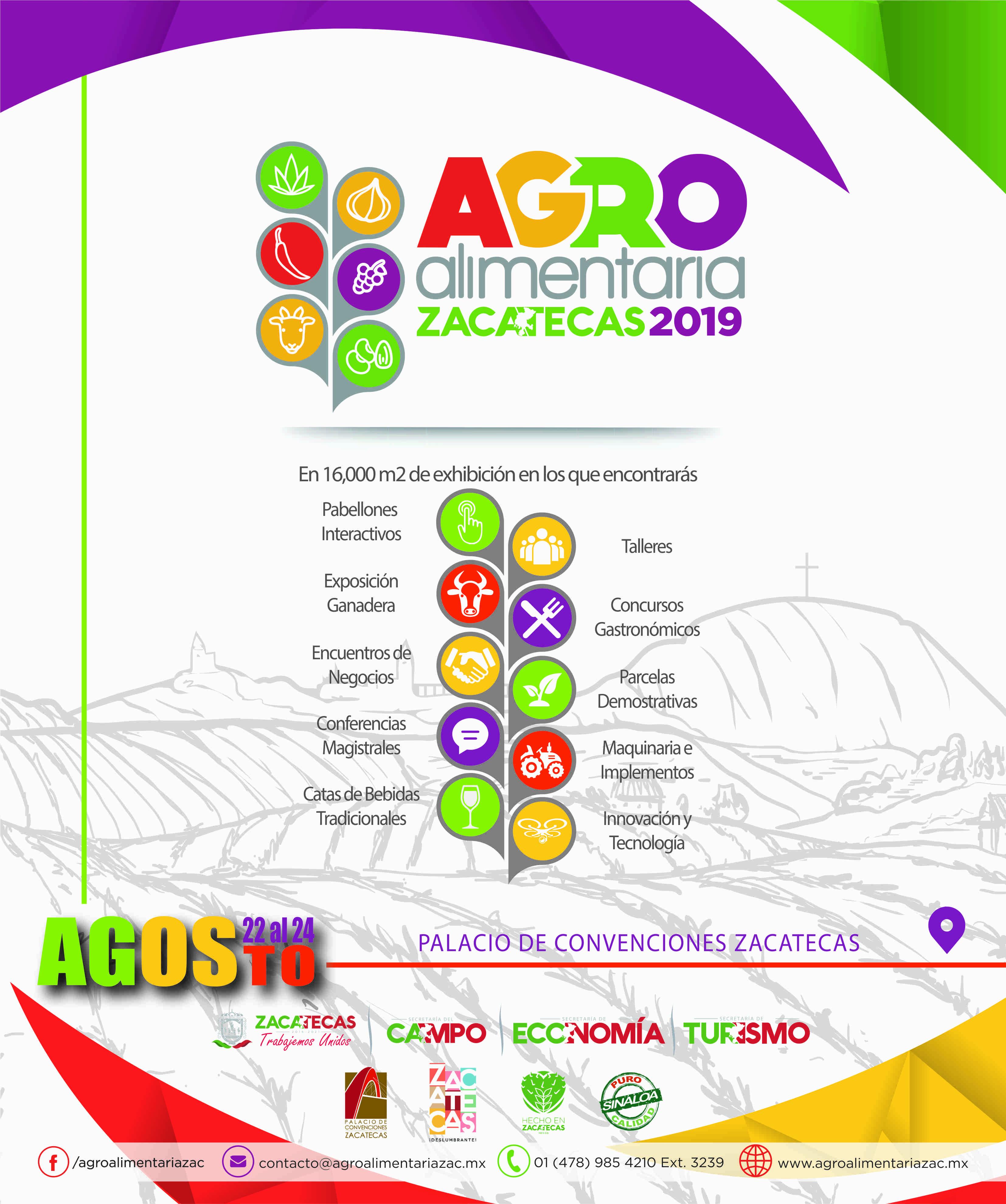 Agroalimentaria Zacatecas 2019