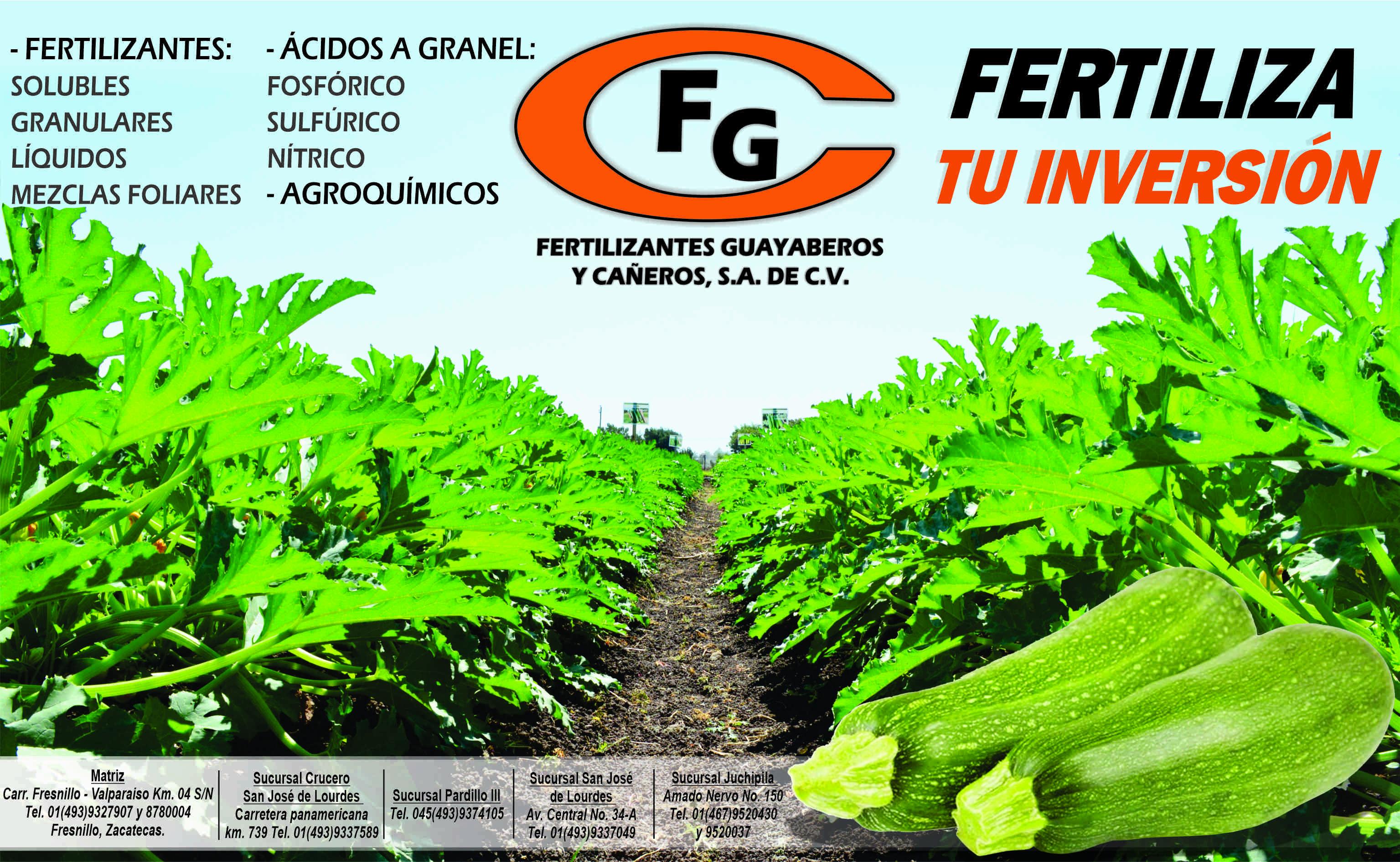 Fertilizantes Guayaberos y Cañeros, S.A. de C.V.